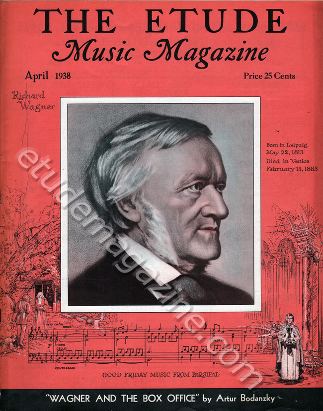April, 1938. Richard Wagner.