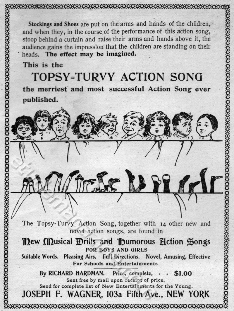 Topsy-Turvy Action Song