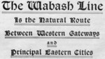The Wabash Line Is the Natural Route