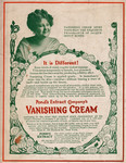 Pond's Extract Company's Vanishing Cream