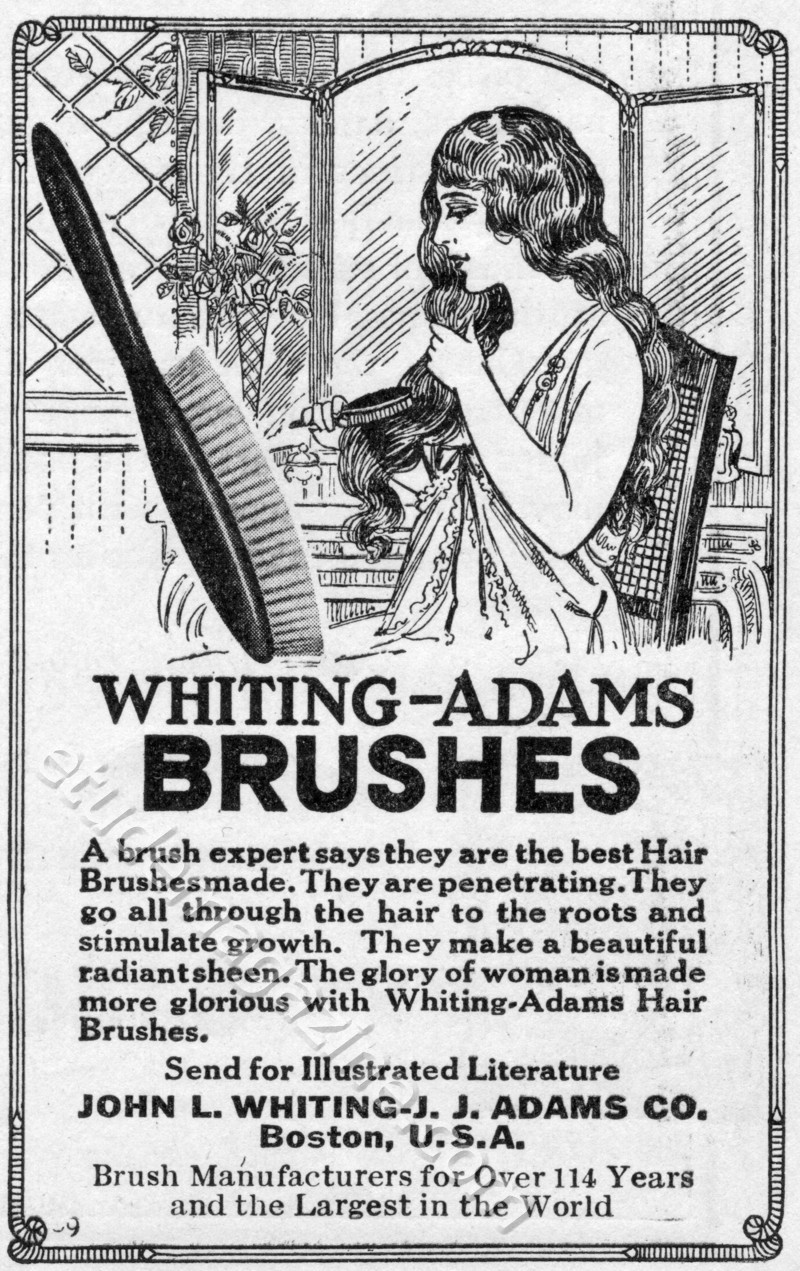 WHITING-ADAMS BRUSHES