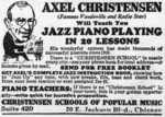 Axel Christensen Will Teach You Jazz Piano Playing