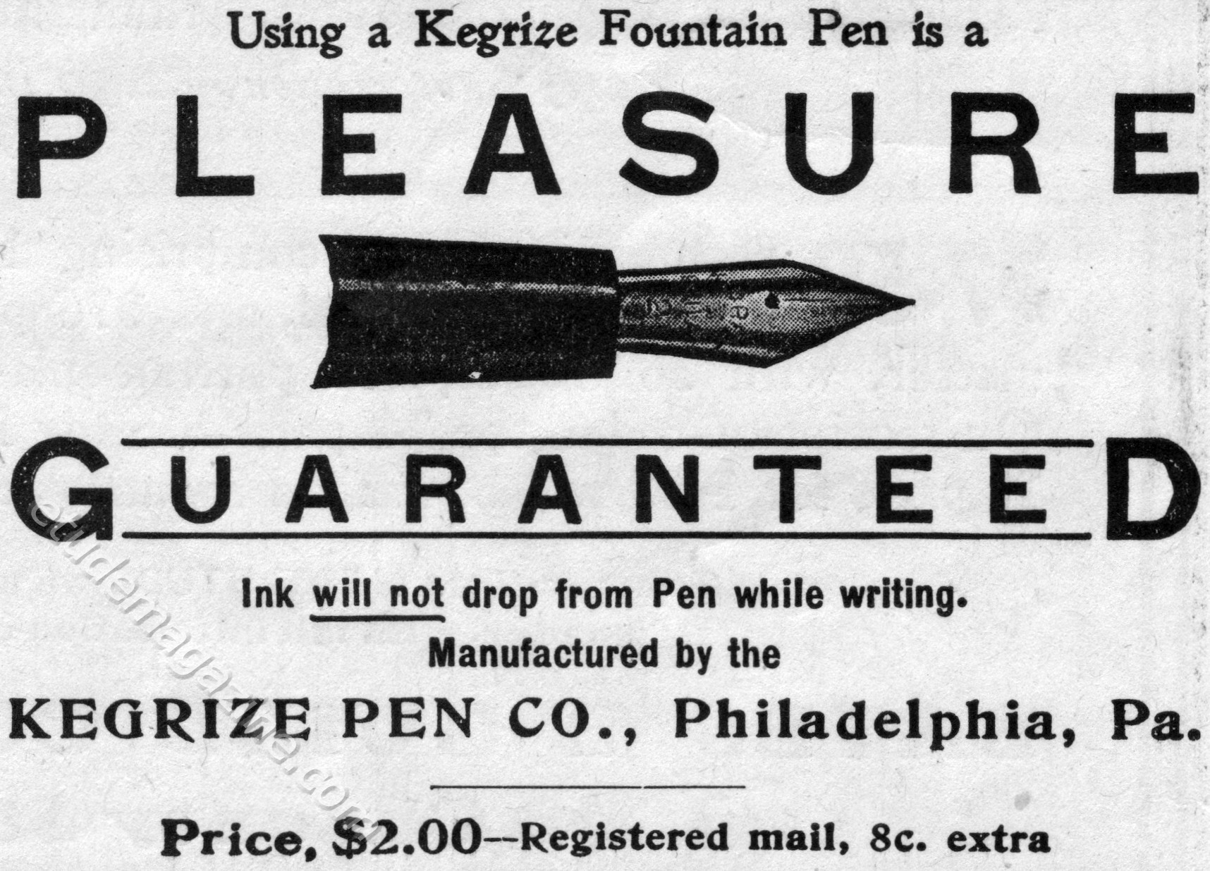 Kegrize Fountain Pen