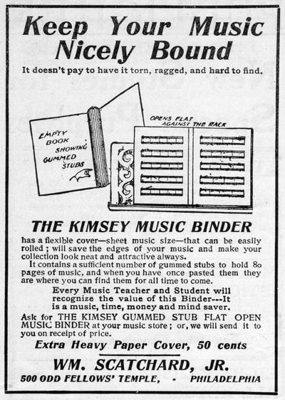The Kimsey Music Binder