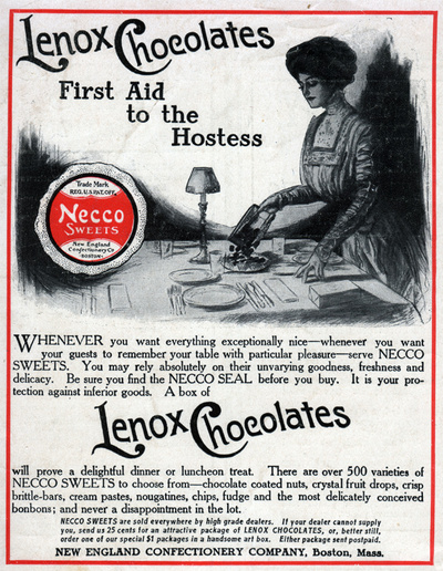 Lenox Chocolates, First Aid to the Hostess