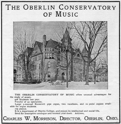 The Oberlin Conservatory of Music