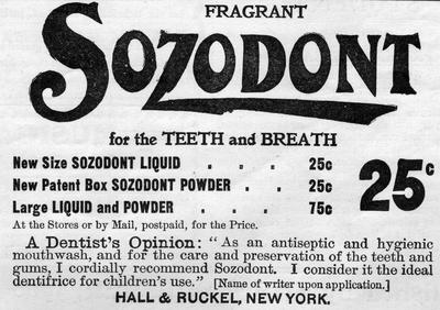 Fragrant Sozodont
