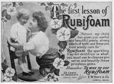 The First Lesson of Rubifoam