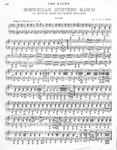 Norwegian Hunters' March, Piano 4-Hand. Arr. by W. P. Mero
